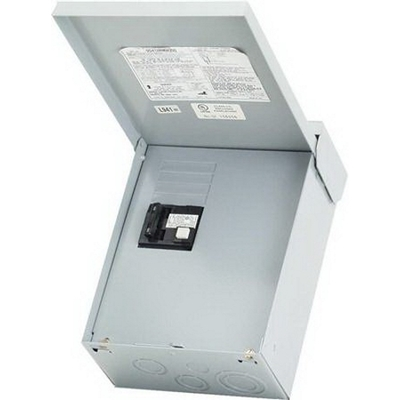 Midwest Electric Products, Inc. UG412RMW250 Midwest UG412RMW250 Non-Fused GFI Disconnect Spa Panel; 50 Amp, 120/240 Volt, 240 Watt, 1-Phase, NEMA 3R, Surface Mount
