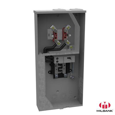 Milbank Manufacturing Co. U5169-XTL-200 Milbank U5169-XTL-200 Meter Main; 120/240 Volt, 200 Amp, 4 Terminal