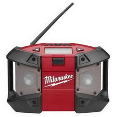 Milwaukee Electric Tool 2590-20 Milwaukee Tools 2590-20 M12™ Cordless Radio; 12 Volt, 10-1/2 Inch