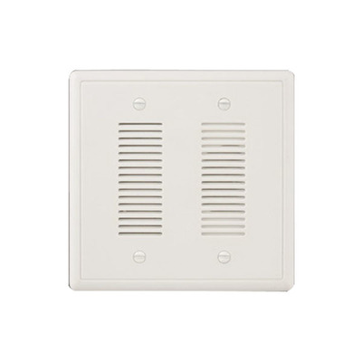 Nicor 18888SB Nicor 18888SB Electronic Prime Door Chime With Stucco Button; 120 Volt AC Input, 9 Volt AC Output, 500 Milli-Amp Output, Recessed/Standard 2-Gang Dual-Voltage Wall Box