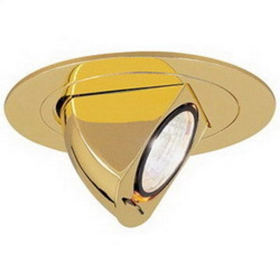 Nora Lighting NL-470BZ Nora NL-470BZ Ceiling Mount/Butterfly Clip 4 Inch Trim With Adjustable Elbow; Bronze, Insulated/Non-Insulated