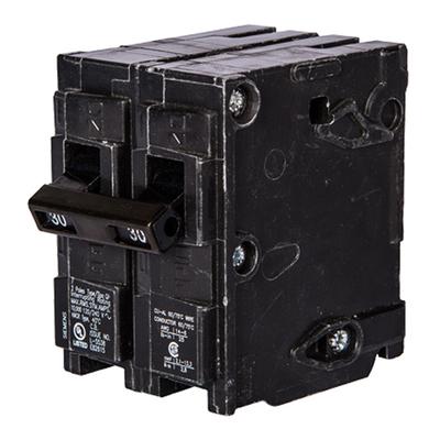 North American Circuit Breaker Q230 Siemens Q230 Circuit Breaker; 30 Amp, 120/240 Volt AC, 2-Pole, Plug-In Mount