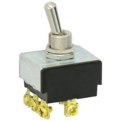 Nsi Industries Tork 78310TS NSI 78310TS Toggle Switch; 3PST, 125/250 Volt AC, 15/10 Amp, On/Off Screw Mount