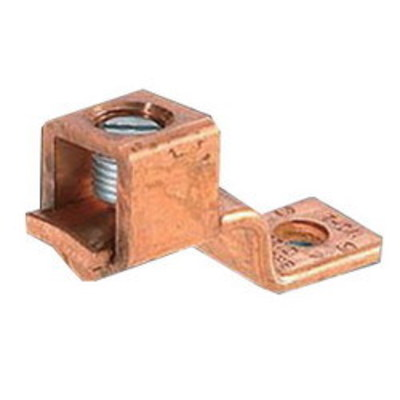 Nsi Industries Tork DE704 NSI DE704 Solderless Lug; 600 Volt, 6-14 AWG, Copper