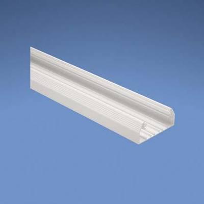 Panduit Wiring Products T70BEI10 Panduit T70BEI10 Pan-Way® MultiChannel T70 Power Rated Raceway Base; 10 ft x 4.070 Inch x 1.770 Inch, PVC, Ivory