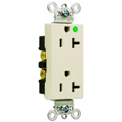 Pass & Seymour Wiring Devices 26362-HGLA 26362-HGLA P&S LA HG DECORATOR