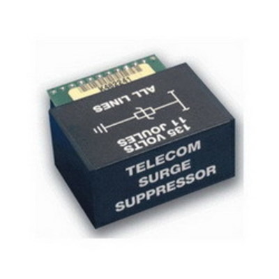 Pass & Seymour Wiring Devices 363487-01 On-Q 363487-01 Telecom Surge Suppression Unit; 24 Conductor, ABS, Black