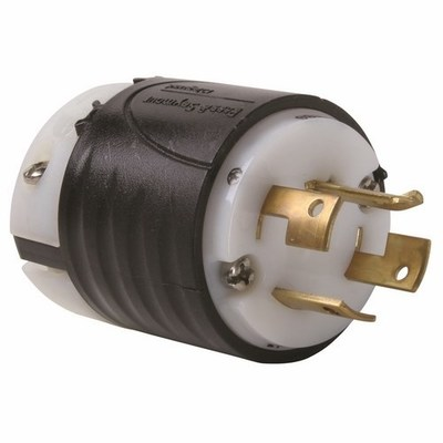 Pass & Seymour Wiring Devices 7411-SS Pass & Seymour 7411-SS Locking Plug 4Wire 20A 3P 120208V