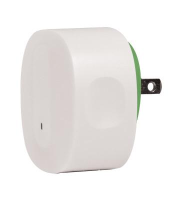 Pass & Seymour Wiring Devices AU8001-V1 On-Q AU8001-V1 Bluetooth 4.0 Receiver; Wall Mount, White