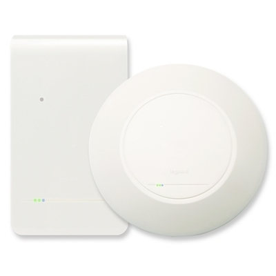 Pass & Seymour Wiring Devices DA1101 On-Q DA1101 In-Wall/Ceiling Mount 802.11n Wireless Access Point; White