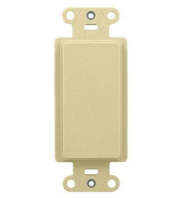 Pass & Seymour Wiring Devices WP3410-LA WP3410-LA ONQ DECOR OUTLET STRAP BL