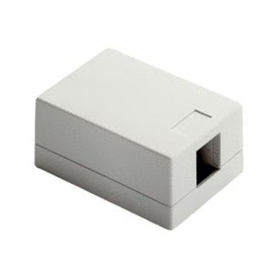 Pass & Seymour Wiring Devices WP3501-WH WP3501-WH ONQ ONE PORT SURFACE MNT BOX WH (M10)