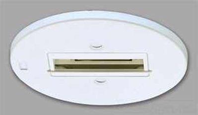 Philips Luminaires 6190WH Lightolier 6190WH Junction Box Basic Monopoint; Matte White