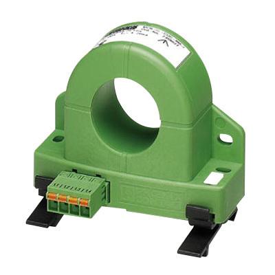Phoenix Contact 2308027 Phoenix 2308027 Universal Current Transducer; 100 Amp Input, <25 Milli-Amp Output, 24 Volt DC Nominal, Frianyl B63 V0 GV30, Green