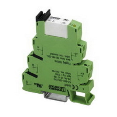 Phoenix Contact 2967620 Phoenix Contact 2967620 PLC Interface Relay Module, 24 VDC Coil Nominal Input, 250 VAC/DC Contact Switching, 18 mA Coil Typical Input, 6 A Contact Continuous, SPDT, Screw Connection