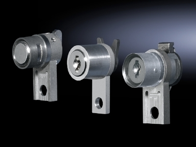 RITTAL  ENCLOSURES 8611190 Rittal 8611190 TS Lock Insert-Pushbutton; Die-Cast Zinc