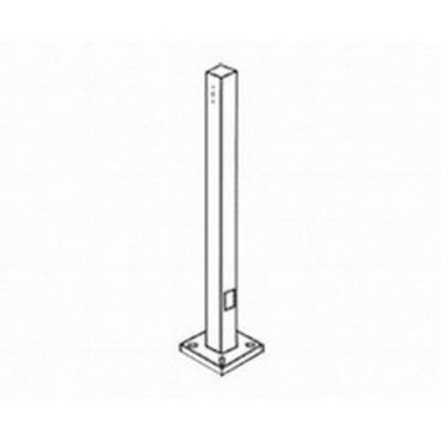 Rab Lighting, Inc. PS4-07-25D2 RAB PS4-07-25D2 Drilled Pole; 25 ft, 4 Inch Shaft, Bronze