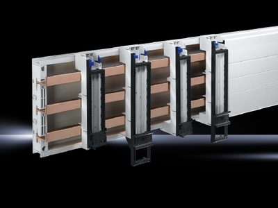 Rittal  Enclosures 9340260 Rittal 9340260 OM Support Frame; For Busbar Thickness 5 or 10 mm