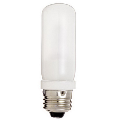SATCO PRODUCTS INC. S3476 Satco S3476 Double Enveloped Halogen Lamp; 75 Watt, 120 Volt, 2000 Hour, 1420 Lumens, Medium Base, 1.250 Inch Dia, 4 Inch MOL, Frosted