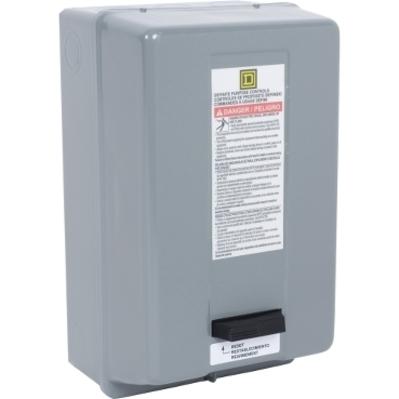 SQUARE D - SCHNEIDER ELECTRIC 8911DPSG42V09 Square D 8911DPSG42V09 Reversing Type S Definite Purpose Starter, 220 VAC Control Circuit, 600 VAC Main, 40 A, NEMA 1, 2-Pole, 1-Phase