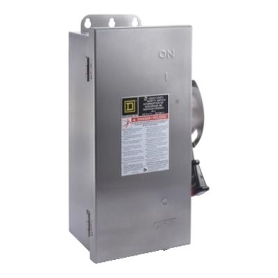 SQUARE D - SCHNEIDER ELECTRIC HU362DSEI Schneider Electric HU362DSEI Switch Nonfusible Hd 60A 3P Stainless