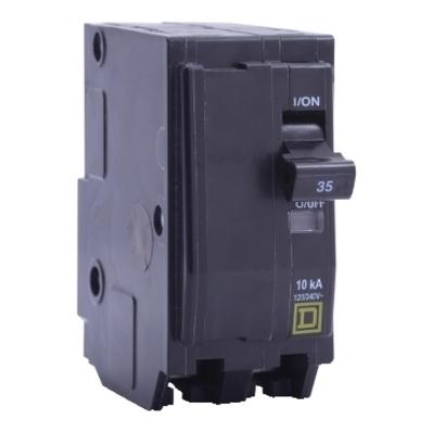 SQUARE D - SCHNEIDER ELECTRIC QO270VH Schneider Electric / Square D QO270VH QO™ Miniature Circuit Breaker; 70 Amp, 120/240 Volt AC, 2-Pole, Plug-On Mount