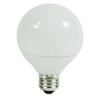 Satco Products Inc. S7304 Satco S7304 G25 Globe Compact Fluorescent Lamp; 15 Watt, 2700K, Warm White
