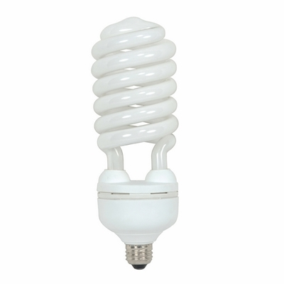 Satco Products Inc. S7337 S7337 SATCO 55 WATT HI-PRO SPIRAL COMPACT FLUORESCENT 2700K 82 CRI MEDIUM BASE 120 VOLTS