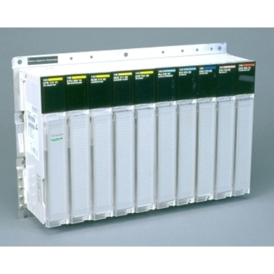 Square D - Schneider Electric 140XBP01000 Schneider Electric 140XBP01000 Square D10-SLOT BACKPLANE
