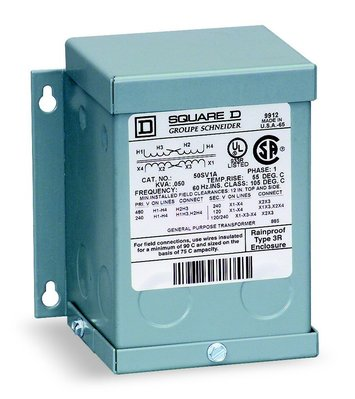 Square D - Schneider Electric 250SV43B Schneider Electric / Square D  250SV43B Buck Boost Transformer; 0.25kVA