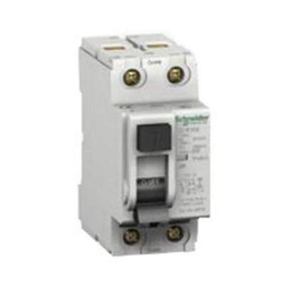 Square D - Schneider Electric 60969 Schneider Electric / Square D 60969 Multi 9™ Ground Fault Protector; 25 Amp, 480Y/277 Volt At 60 Hz (UL1053), 230/400, 240/415 Volt At 50 Hz (IEC 61008), 2-Pole, DIN Rail Mount