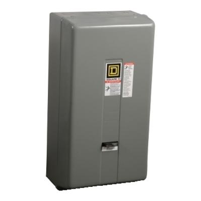 Square D - Schneider Electric 8536SEG1V08 Square D 8536SEG1V08 Non-Reversing Type S Motor Starter, 208 VAC Control Circuit, 600 VAC Main, 90 A, NEMA 3, 3-Pole, 3-Phase