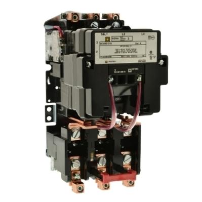 Square D - Schneider Electric 8536SEO1V01S Square D 8536SEO1V01S Non-Reversing Type S Motor Starter, 24 VAC Control Circuit, 600 VAC Main, 90 A, NEMA 3, 3-Pole, 3-Phase