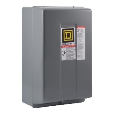 Square D - Schneider Electric 8903LXG40V02R6 Schneider Electric / Square D 8903LXG40V02R6 Type LX Mechanically Held Lighting Contactor; 30 Amp, 110 - 120 Volt at 50/60 Hz, 4 Pole