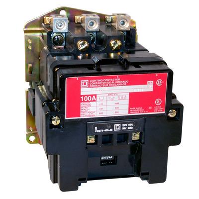 Square D - Schneider Electric 8903SMO2V02 Schneider Electric 8903SMO2V02 Lighting Contactor 600VAC 30A Nema