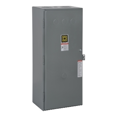 Square D - Schneider Electric 8903SQG3V02 Schneider Electric / Square D 8903SQG3V02 Type S Electrically Held Lighting Contactor; 100 Amp, 110 - 120 Volt at 50/60 Hz, 4 Pole