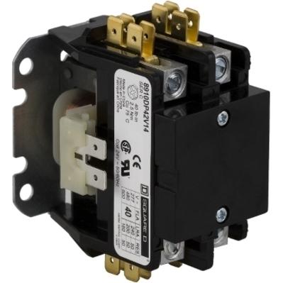 Square D - Schneider Electric 8910DP21V14 8910DP21V14 SQD CONTACTOR 600VAC 25AMP DP +OPTIONS