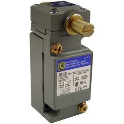 Square D - Schneider Electric 9007C62A2 Square D 9007C62A2 Heavy Duty Limit Switch, 600 V, 10 A, 2NC 1NO, Snap Action
