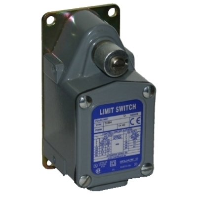 Square D - Schneider Electric 9007TUB4M12 Square D 9007TUB4M12 Server Duty Limit Switch, 600 V, 20 A, 2NO, Snap Action