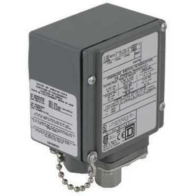 Square D - Schneider Electric 9012GAW2 Schneider Electric / Square D 9012GAW2 Pressure Switch 480VAC 10AMP G options