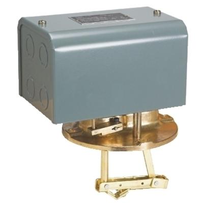 Square D - Schneider Electric 9038DG7 Square D 9038DG7 Mechanical Alternator Float Switch, 115/230/460/575 VAC, 32/115/230 VDC, 10 A, 2-Pole, Painted Cold-Rolled Steel