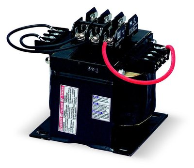 Square D - Schneider Electric 9070TF1000D50 Square D 9070TF1000D50 Type TF Industrial Control Transformer, 240/416/480/600 V Primary, 99/120/130 V Secondary, 1-Phase, 1000 VA, Screw Clamp Connection