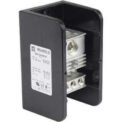 Square D - Schneider Electric 9080LBA165106 Schneider Electric / Square D 9080LBA165106 Standard Power Distribution Block; 600 Volt AC, Lug Connection
