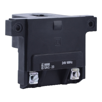 Square D - Schneider Electric 9998SAC23 Schneider Electric / Square D 9998SAC23 SA Replacement coil; 24 Volt AC, 60 Hz, For Used With Present-design Magnetic Contactors and Starters