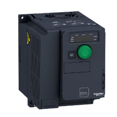 Square D - Schneider Electric ATV320U15M2C Square D ATV320U15M2C Variable Speed AC Drive with Compact Control Block, 1.5 kW/2 HP, 200 - 240 V, 1-Phase, IP20