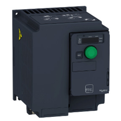 Square D - Schneider Electric ATV320U30M3C Square D ATV320U30M3C Variable Speed AC Drive with Compact Control Block, 3 kW/4 HP, 200 - 240 V, 3-Phase, IP20