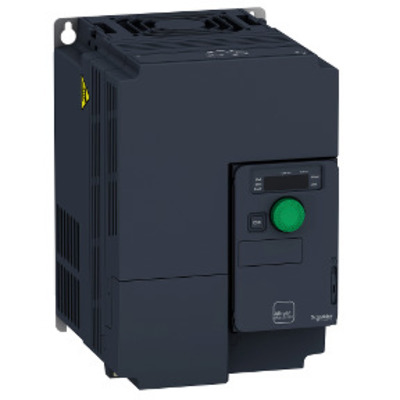 Square D - Schneider Electric ATV320U75M3C Square D ATV320U75M3C Variable Speed AC Drive with Compact Control Block, 7.5 kW/10 HP, 200 - 240 V, 3-Phase, IP20