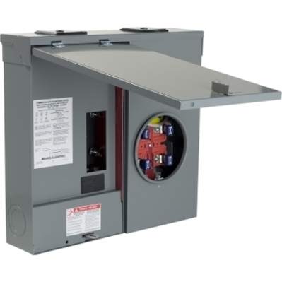 Square D - Schneider Electric C2M200S Schneider Electric C2M200S Mtr Main Ring TSurface 200A 2 Space Qo