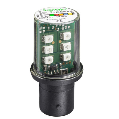 Square D - Schneider Electric DL1BKG8 DL1BKG8 SQD FLASHING LED 120 VAC YELLOW/AMBER