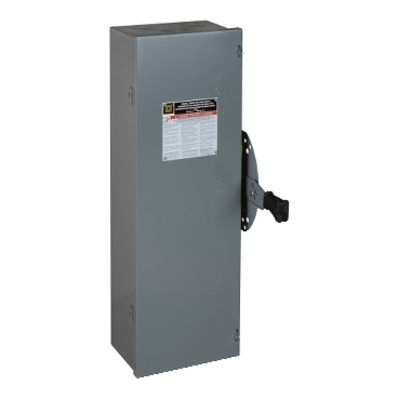 Square D - Schneider Electric DTU222 Square D DTU222 Double Throw Non-Fusible Safety Switch, 240 VAC, 60 A, 2-Pole